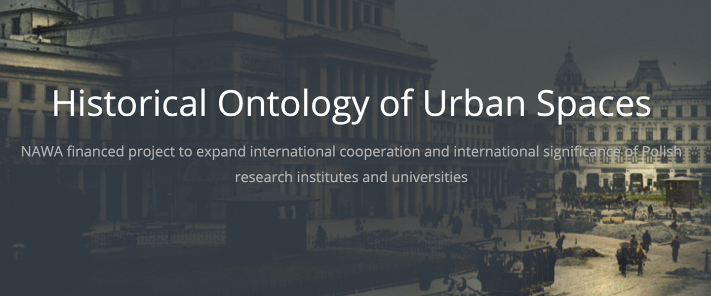 Historical Ontology of Urban Spaces